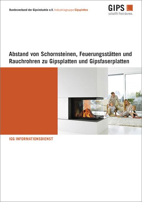Gipswerkstoffe Im Bereich Von Schornsteinen Feuerstätten Und