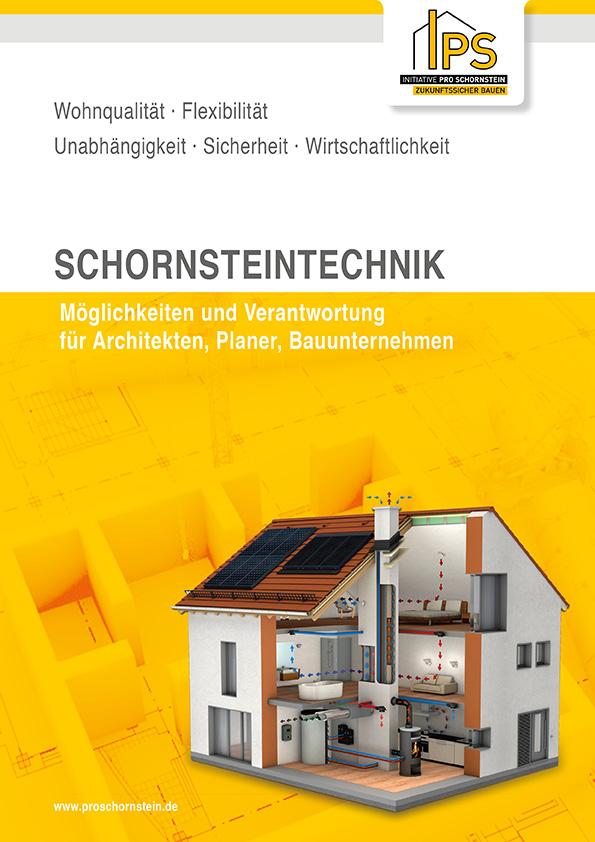 Broschüre Schornsteintechnik richtig planen